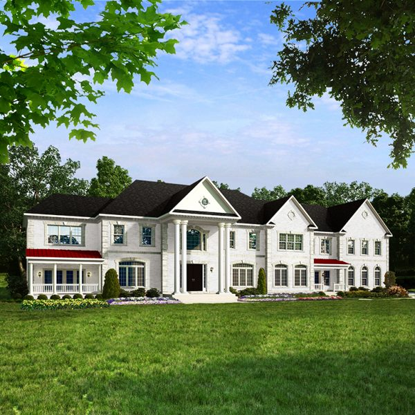 Middleburg New Home Elevation by Classic Homes