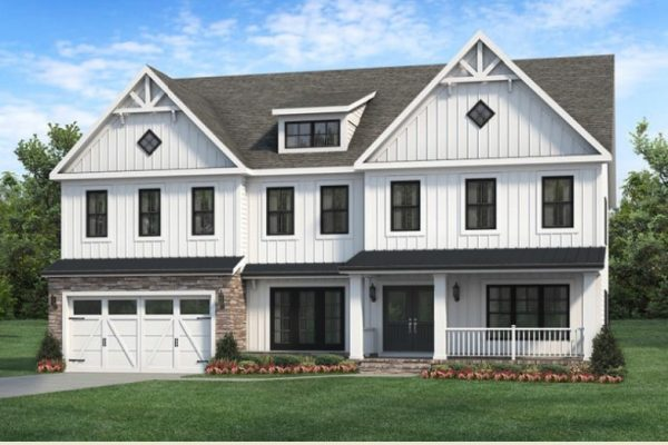 Radford New Home Elevation by Classic Homes