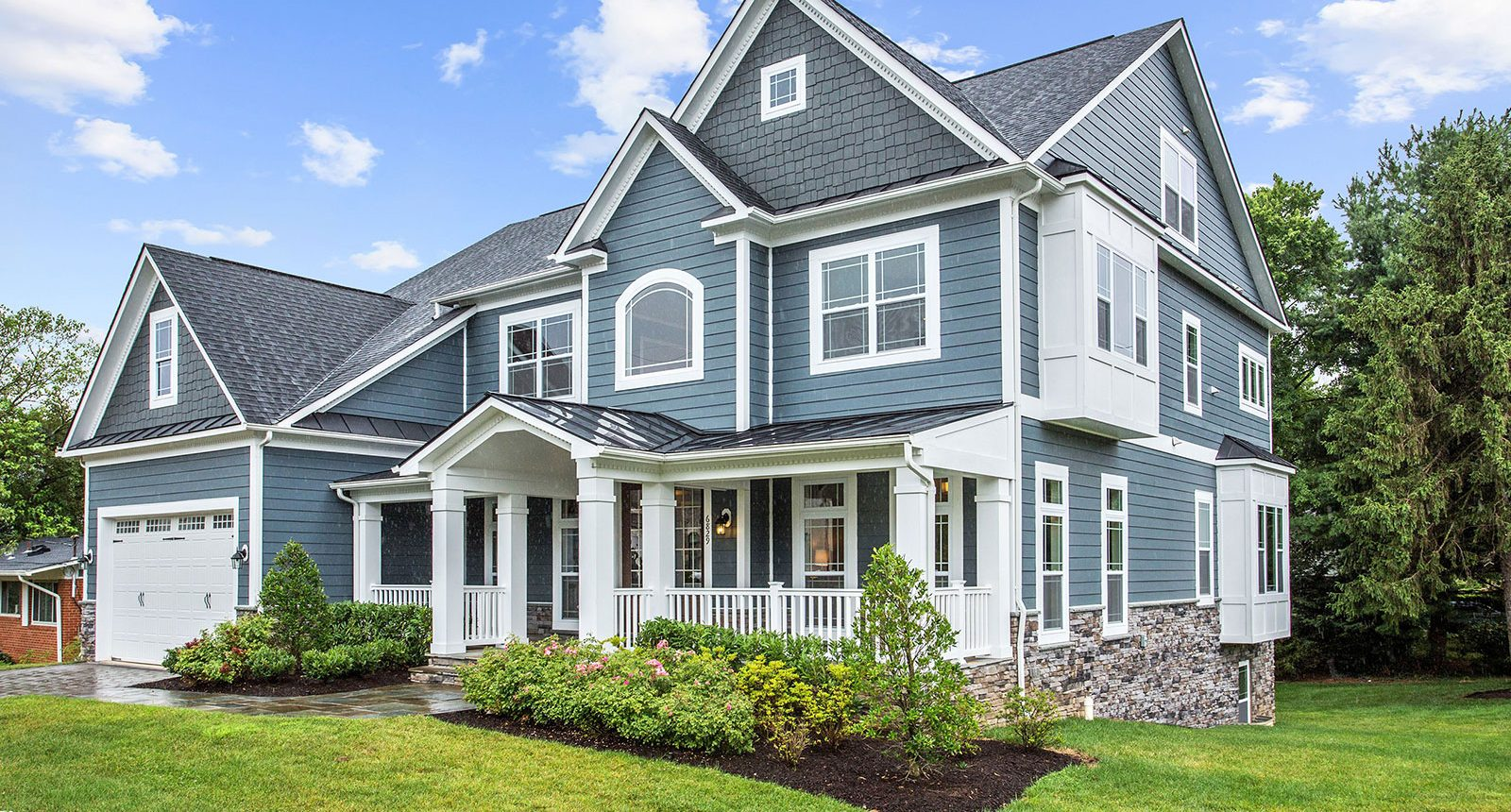 News Home Exterior by Classic Homes