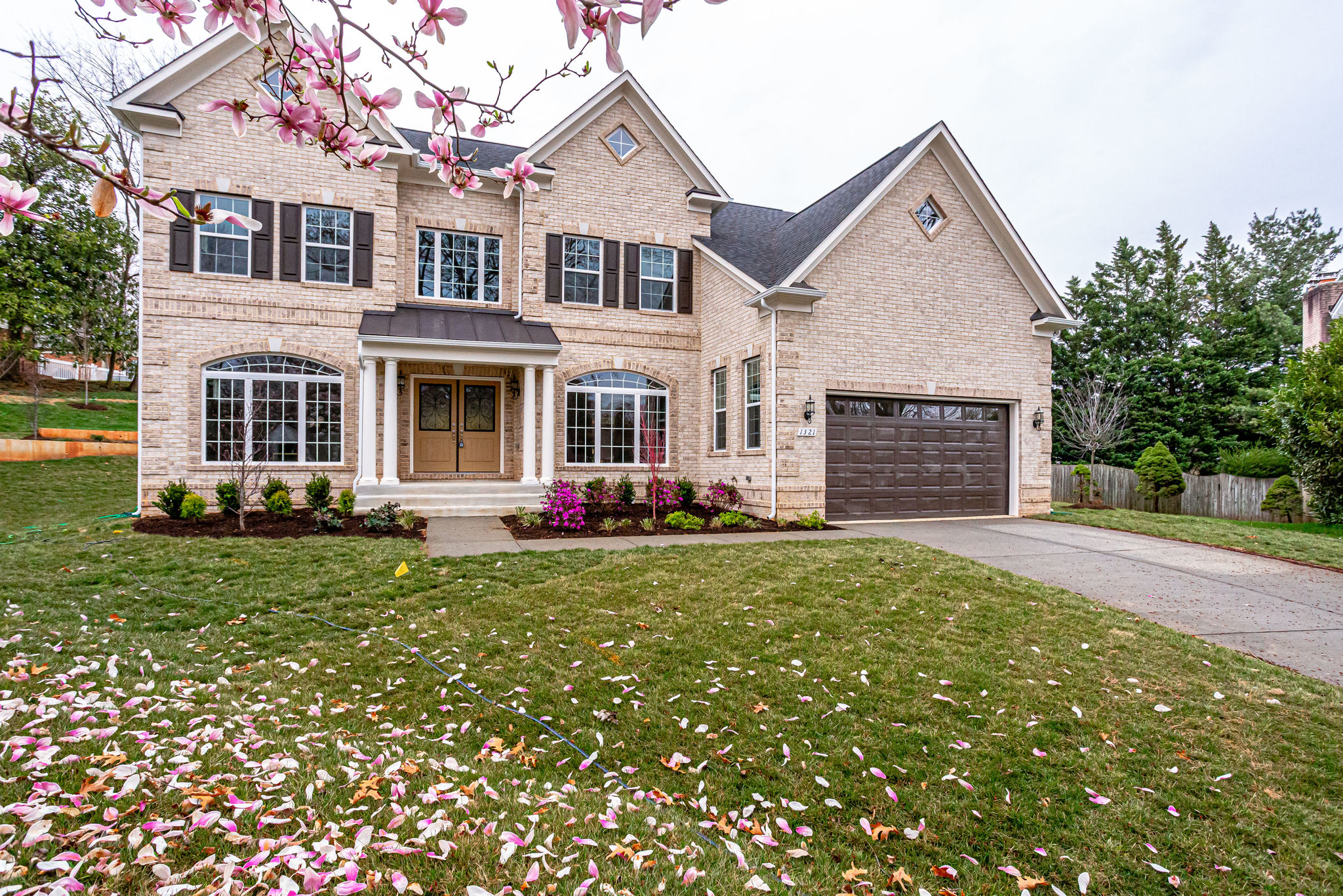 New Home Exterior in NOVA by Classic Homes