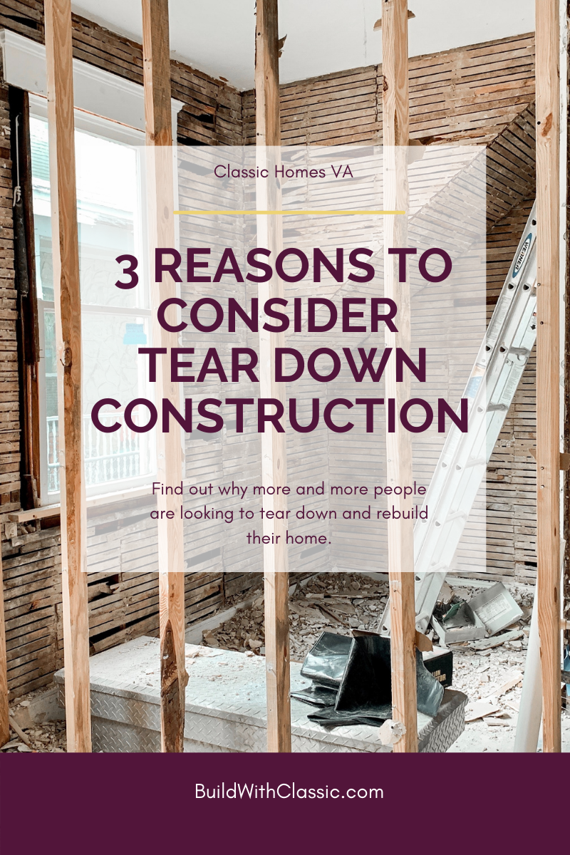 Tear Down Construction Blog Graphic